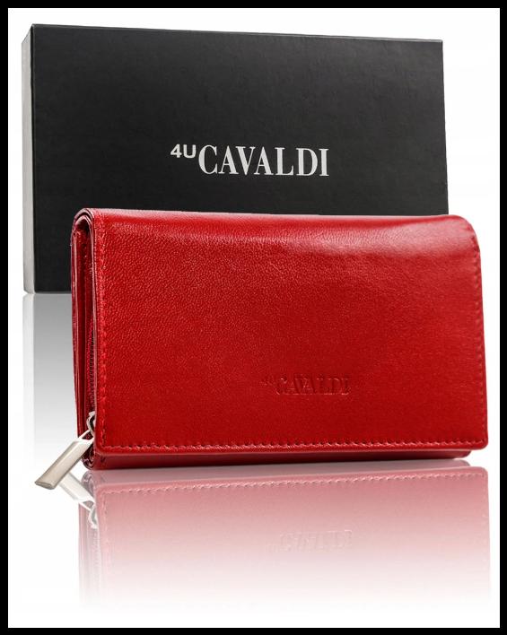 Гаманець жіночий Cavaldi Польща захист RFID натуральна шкіра код 294