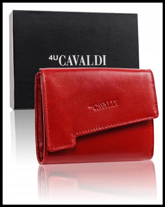 Кошелек женский Cavaldi  Польша защита RFID натуральная кожа код 293