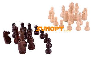 Шахові фігури дерев'яні №4405