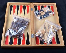 Ігровий набір 3в1 нарди і шахи та шашки (39х39 см) X-409