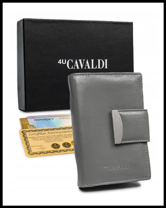 Гаманець жіночий Cavaldi Польща захист RFID натуральна шкіра код 292