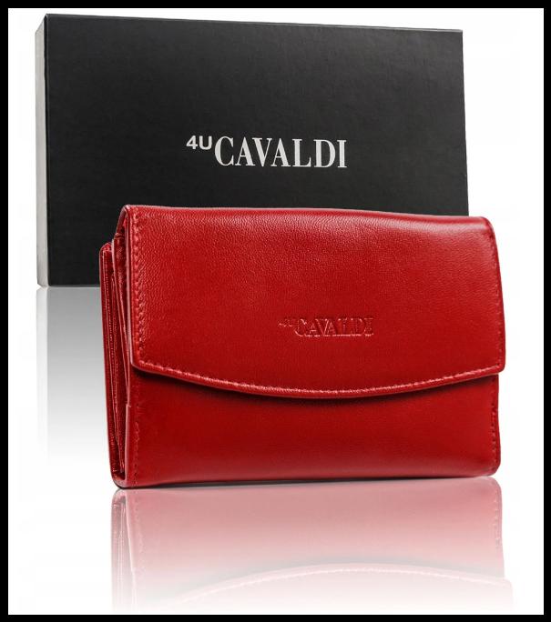 Кошелек женский Cavaldi защита RFID натуральная кожа  код 291