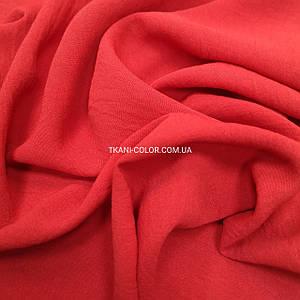Ткань американский креп красный