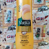 Кондиционер Дабур Ватика с протеинами яиц для тонких и ломких волос, Dabur Vatika Egg, 200мл