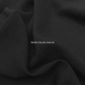Ткань американский креп черный