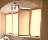 Рулонні штори Len. Тканинні ролети Льон Персиковий 0877, 38, фото 4