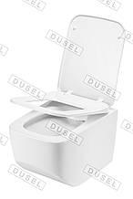 Унитаз подвесной DUSEL LUNAR DWHT10201530R с сиденьем Slim Soft-Close