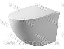Унитаз подвесной DUSEL SENTIA DWHT10201630R с сиденьем Soft-Close