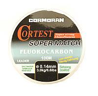 Леска CORMORAN Cortest flurocarbon 100м 0,16 мм, 3,7 кг