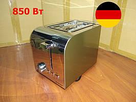 Немецкий тостер SilverCrest STS 850 D1 champagnemetallic
