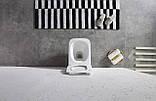 Комплект: Унитаз подвесной DUSEL CUBIS+Инсталляция GROHE+Панель смыва Grohe Skate Cosmopolitan, фото 7