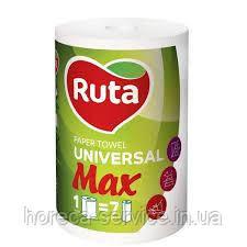 Бумажные полотенца RUTA Universal MAX 200х225 двухслойные 350 отр. 70 м.