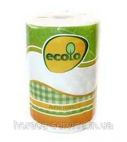 Бумажные полотенца ECOLO Мега 1 шт.