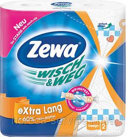 Бумажные полотенца Zewa (ЗЕВА) двухслойные 2 шт.