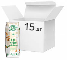 Упаковка напитка Vega Milk рисово-миндального ультрапастеризованного 250 мл х 15 шт 4820192262217, КОД: