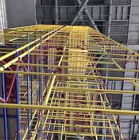 Вышка-тура ВСП строительная на колесах 2.0 х 2.0 (м) 3+1