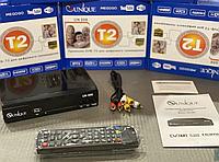 Цифровой ресивер UNIQUE U006 metal Приставка Т2 Цифровой ТВ тюнер MEGOGO DVB T2 с IPTV, Wi-Fi, Youtube, USB