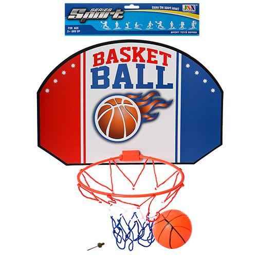 Баскетбольное кольцо с мячом детское 23,5см