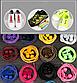 Регулируемые эластичные шнурки с фиксатором. Красивые шнурки для кроссовок. Резиновые шнурки. Цвет розовый, фото 6
