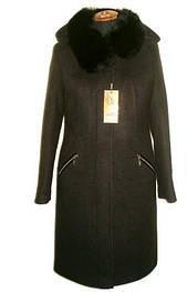 Женские пальто больших размеров