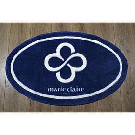 Килимок для ванної Marie Claire - Sally темно синій 66*107 овал