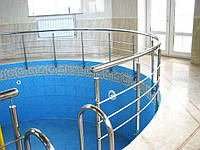 Лестницы и перила для бассейнов