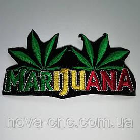 "Аппликация термо-клеевая ""Marijuana"" 108 х 60 мм  упаковка 20 шт"