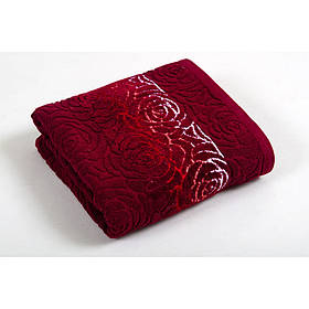 Полотенце Shamrock - Perimele бордовый 70*140