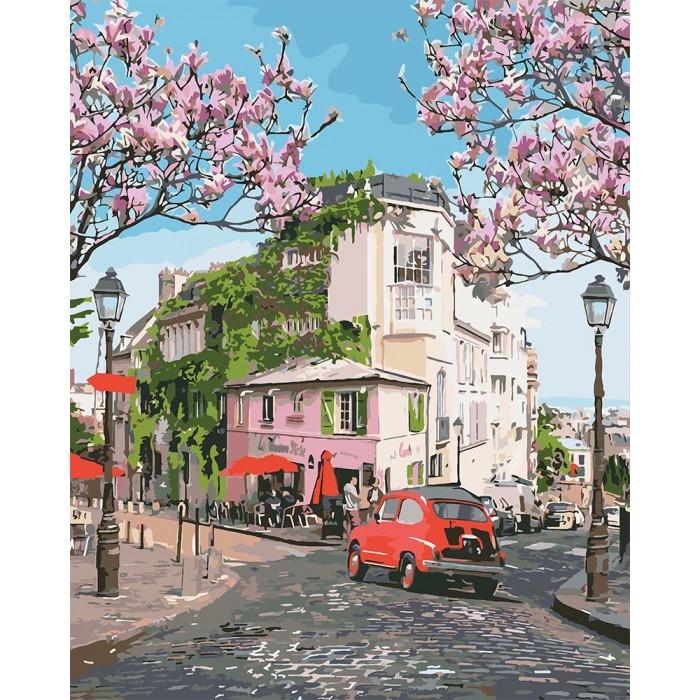 Картины по номерам 40×50 см. Идейка (без коробки) Французское путешествие (КНО 3500)