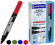 Маркеры перманентные CENTROPEN  (2.5 mm КРУГЛЫЙ)
