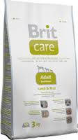 Brit Care Adult Small Breed Lamb & Rice 3 кг-корм для собак мелких пород с ягненком.