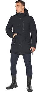 Куртка – воздуховик на зиму для мужчин цвет синий модель 20140