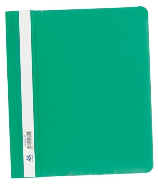 Скоросшиватель пласт. А5 РР зеленый(BM3312-04)