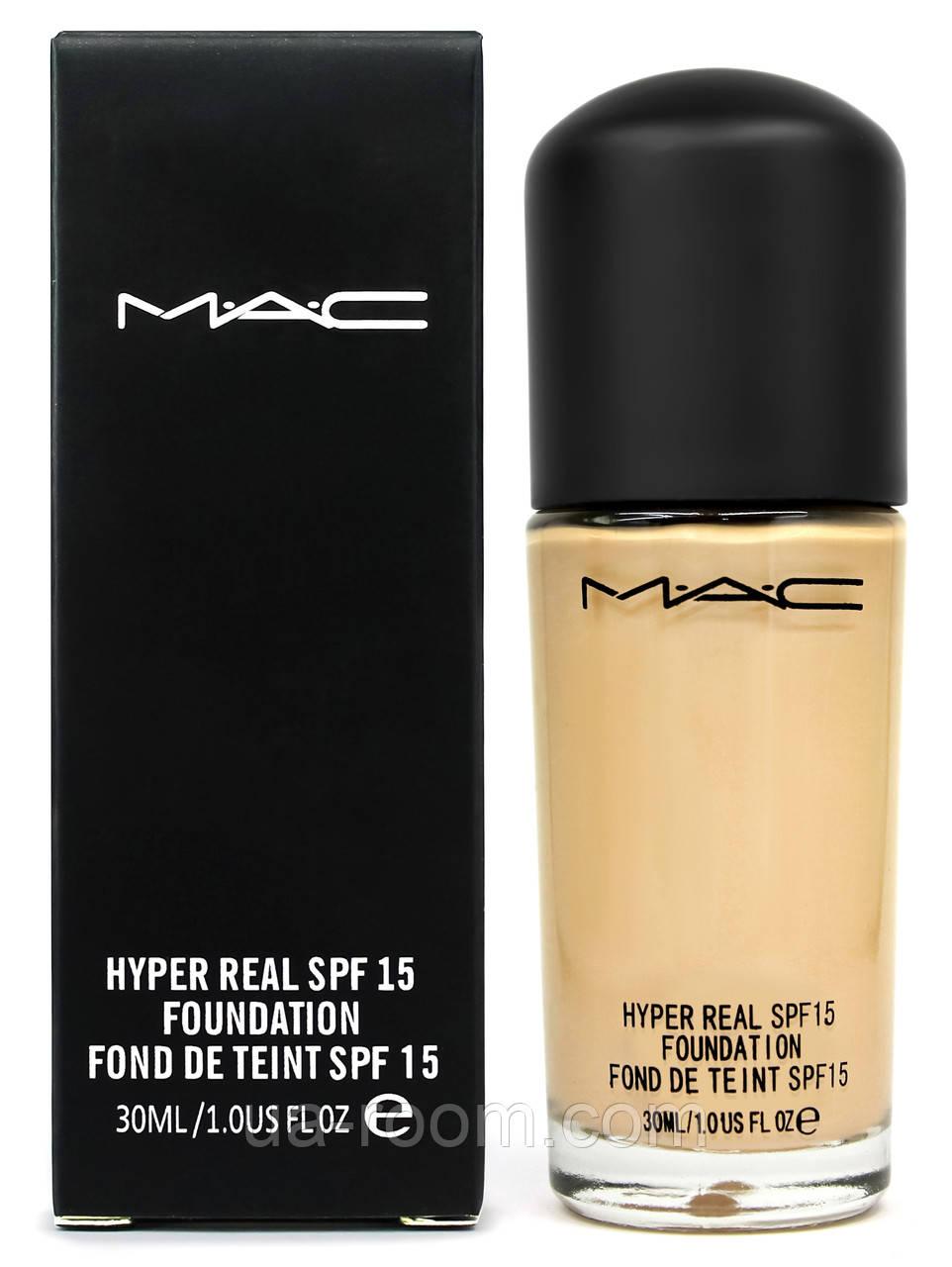 Тональная основа MAC hyper real MC43