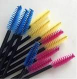 Щеточки для бровей и ресниц нейлоновые 10 шт, фото 2
