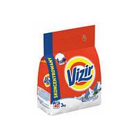 Стиральный порошок Vizir 3 кг для белого и светлого белья, фото 1