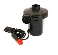 Компрессор насос для матрасов автомобильный 12 V Electric Air Pump YF-207 12x12x10 см 2 м