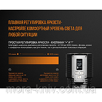 Потужний світлодіодний ліхтар Fenix (фенікс) TK72R (CREE XHP70, 9000 ЛМ), фото 2