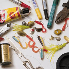 Ремонт и обслуживание рыболовных снастей