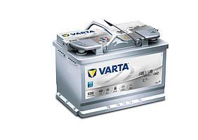 Аккумулятор VARTA SD  6СТ-70 (0) AGM Start-stop Е39