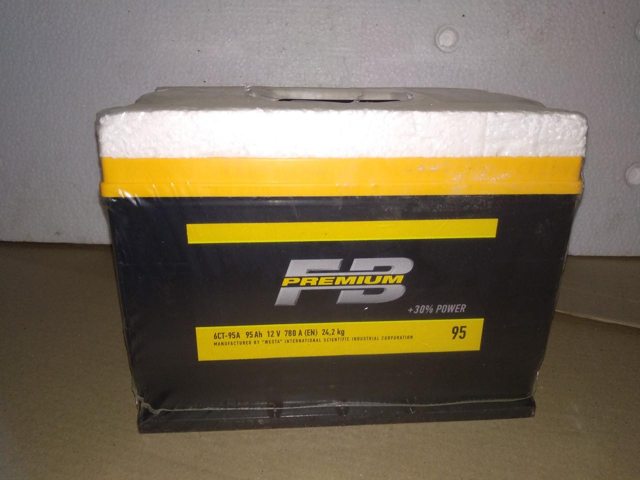 Аккумулятор FB Premium 6СТ-95-АЗ (0) Азия