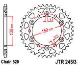 Звезда задняя стальная  JT JTR245/3.43 JT Sprockets, фото 2