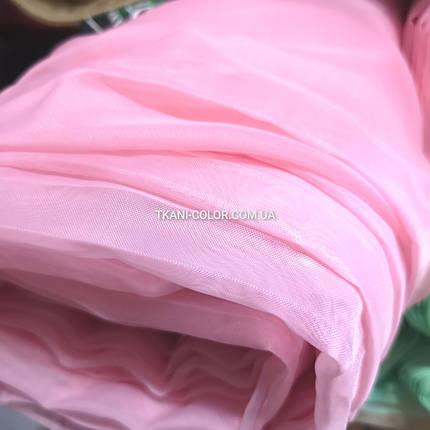 Ткань шифон для штор розовый, фото 2