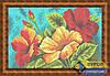 Схема для вышивки бисером - Букет цветов, Арт. НБп4-058