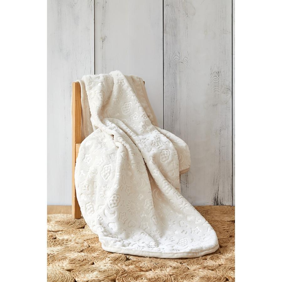 Детский плед в кроватку Karaca Home - Candy Bej 2020-2 100*120