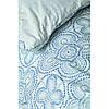 Постельное белье Karaca Home ранфорс - Anemos mavi 2020-2 голубой евро, фото 3