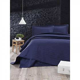 Покрывало стеганное Eponj Home - Monart lacivert синий 220*240