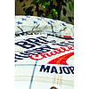 Постельное белье Karaca Home - Challenge mavi 2020-2 голубой ранфорс подростковое, фото 2