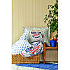 Постельное белье Karaca Home - Challenge mavi 2020-2 голубой ранфорс подростковое, фото 3
