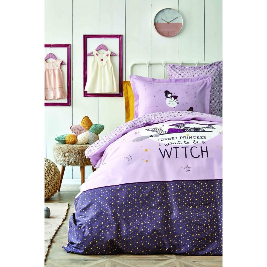 Постельное белье Karaca Home - Witch bordo 2020-2 бордовый ранфорс пике подростковое